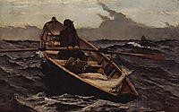 Nebelwarnung (The Fog Warning), 1885, homer