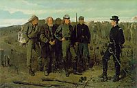 Prisoners from the Front, 1866, homer