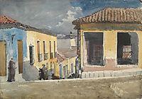 Santiago de Cuba, Street Scene, homer