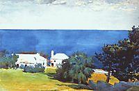 Shore at Bermuda, c.1899, homer