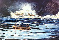 Under the Falls, the Grand Discharge, 1895, homer