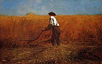 The Veteran in a New Field, 1865, homer