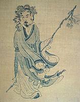 Portrait of T-ao Ch-ien, hongshou