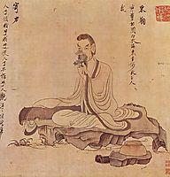 Portrait of Tao Yuanming, hongshou