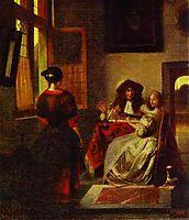 Concert, c.1680, hooch