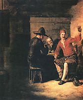 Happy drinker, c.1650, hooch