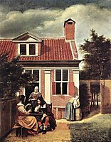 Village House, 1665, hooch