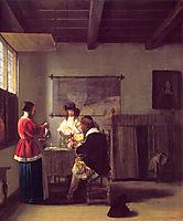 The Visit, 1657, hooch