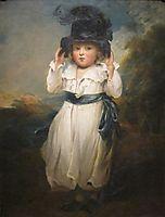 The Hon. Alicia Herbert as a Child, 1795, hoppner