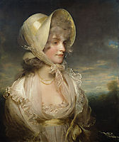The Honorable Lucy Elizabeth Byng, 1799, hoppner