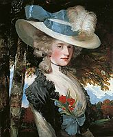 The Honourable Elizabeth Ingram, 1789, hoppner
