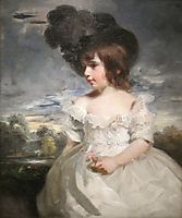 Master Meyrick (William Henry Meyrick in ruffled infant-s dress) 1793, hoppner