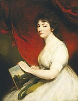 Miss Mary Linwood, 1800, hoppner