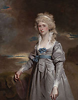 Portrait of Charlotte Walsingham, Lady Fitzgerald, hoppner