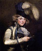 Portrait of Dorothy Jordan as Hypolita, 1791, hoppner