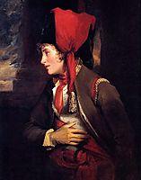 Portrait of Dorothy Jordan as Rosalind in 'As You Like It', 1801, hoppner