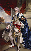 Portrait of George IV, when Prince of Wales, 1796, hoppner