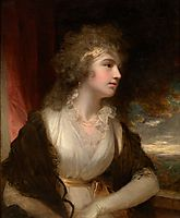 Portrait of a lady, 1790, hoppner