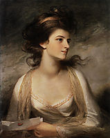 Portrait of a Lady as Evelina, hoppner