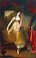 Portrait of Mademoiselle Hilligsberg, 1791, hoppner