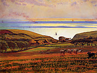 Fairlight Downs, Sunlight on the Sea, hunt