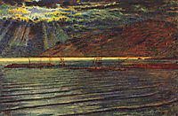 Fishingboats by Moonlight, hunt