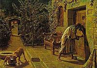 The Importunate Neighbour, 1895, hunt