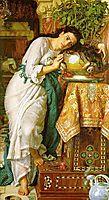 Isabella and the Pot of Basil, 1867, hunt