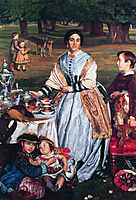Lady Fairbairn with her Children, 1864, hunt