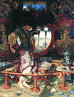 The Lady of Shalott, 1905, hunt