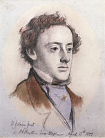Portrait of John Everett Millais, 1853, hunt
