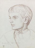 Portrait Of Marion Edith Holman Hunt, 1877, hunt