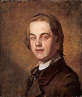 Self-Portrait, 1845, hunt