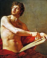 Academic Study of a Male Torse, 1801, ingres
