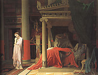 Antiochus and Stratonice, 1840, ingres