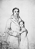Charles Hayard and his daughter Marguerite, ingres