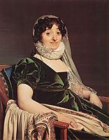 Comtes de Tournon, née Geneviève de Seytres Caumont, 1812, ingres