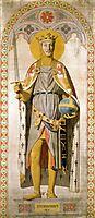 Duke Ferdinand-Philippe of Orleans, as St. Ferdinand of Castile, 1842, ingres