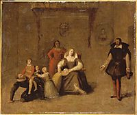 Henry IV Playing with His Children, ingres