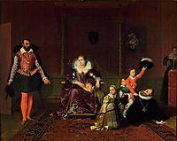 Henry IV Recieving The Ambassador of Spain, 1817, ingres