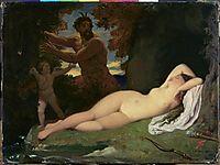 Jupiter and Antiope, 1851, ingres