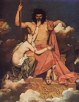 Jupiter and Thetis, 1811, ingres