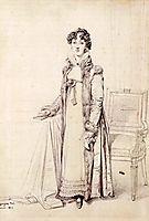 Lady William Henry Cavendish Bentinck, born Lady Mary Acheson, ingres