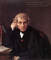 Luigi Cherubini, 1841, ingres