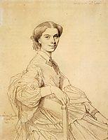 Madame Charles Gounod, born Anna Zimmermann, ingres