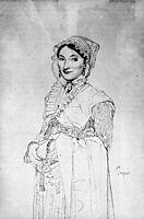 Madame Charles Hayard, born Jeanne Susanne, ingres