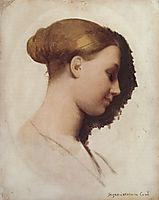 Madame Clément Boulanger, née Marie-Élizabeth Blavot, later Madame Edmond Cavé, 1830, ingres