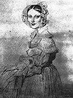 Madame Eugène Viollet le Duc, 1837, ingres