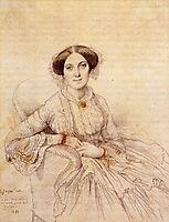 Madame Felix Gallois, born Nathalie Rose Joachime Bochet, ingres