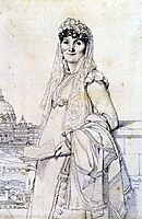 Madame Guillaume Mallet, born Anne Julie Houel, ingres
